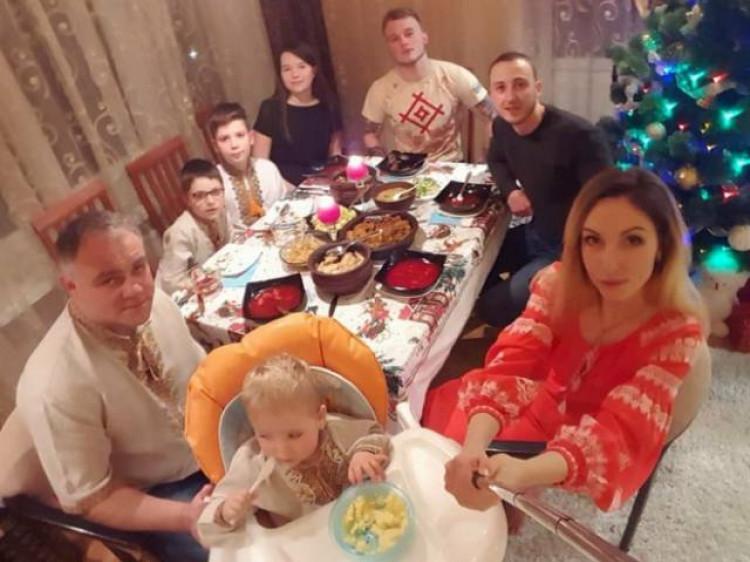 Максимко зустрів Різдво у родинному колі