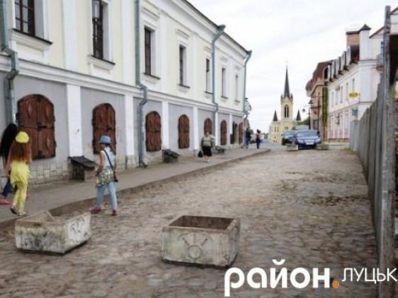 Старе місто у Луцьку