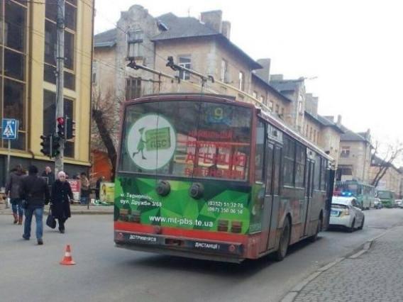 Засудили водія тролейбуса