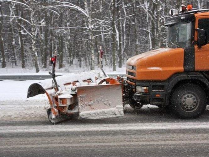 Чистка доріг від снігу