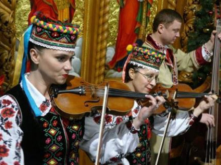Музиканти Волинського народного хору