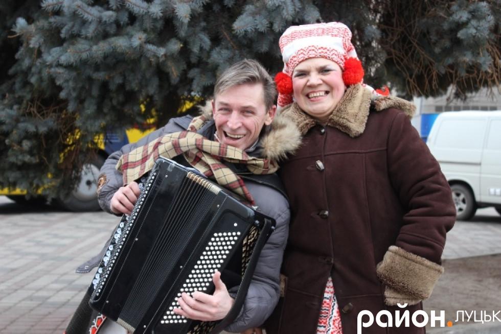 Веселий настрій у всіх музикантів був, не зважаючи на холод