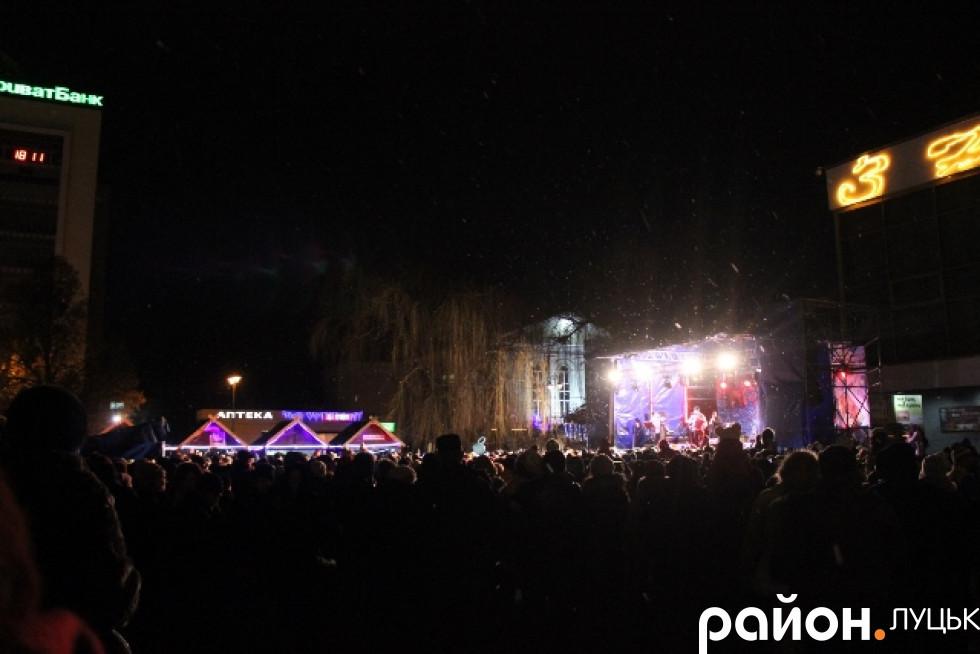 Виступ відбувся у рамках фестивалю «Різдво у Луцьку»
