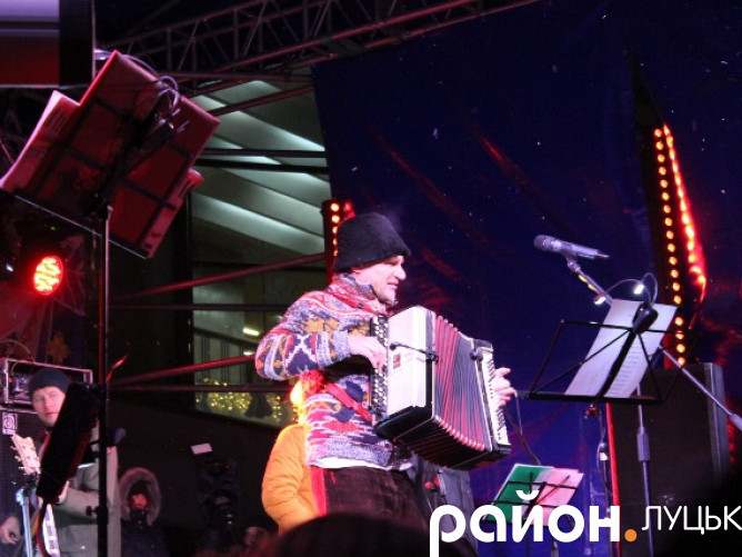 Олег Скрипка у Луцьку