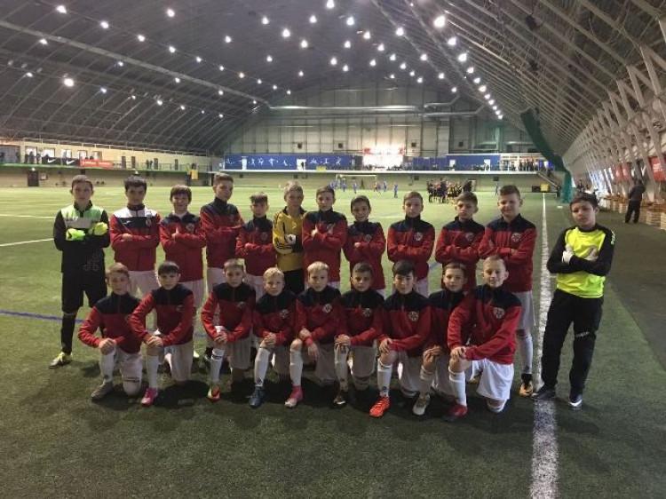 Команда «Волинь U-13, яка достойно виступила на змаганнях у Латвії