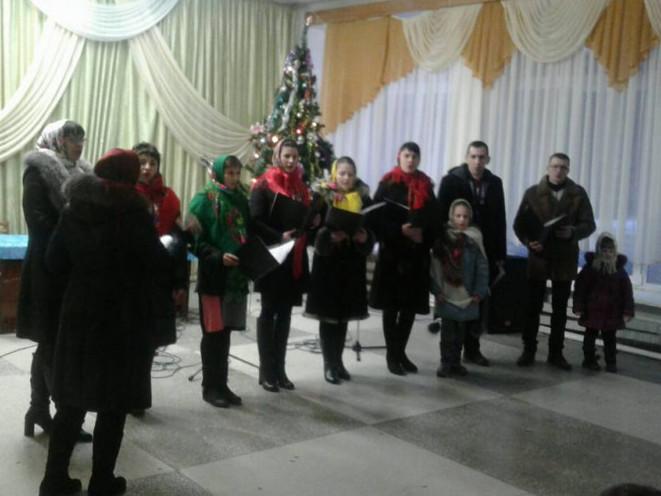 У рокинівському Будинку культури провели різдвяний захід