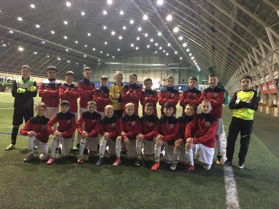 Команда «Волинь U-13» успішно виступила на міжнародних змаганнях у Латвії