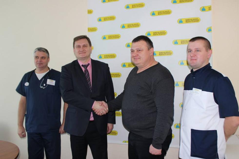 Ігор Дородних, Юрій Войтенко, Сергій Ляшенко (зліва направо)