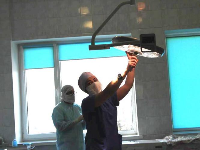 Операційна лампа LUVIS M200 в дитячій лікарні