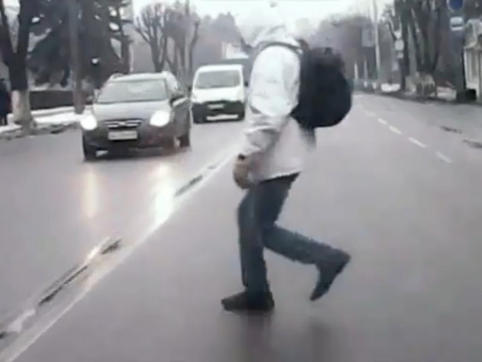 Необережний пішохід