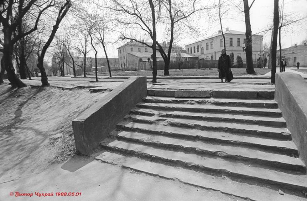 Вулиця Братковського в 1988 році