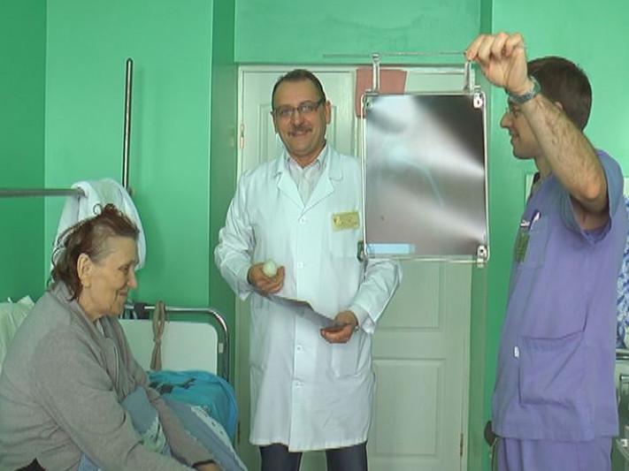 Пацієнтка на прийомі