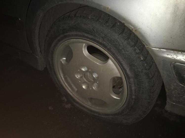 Пошкоджене колесо