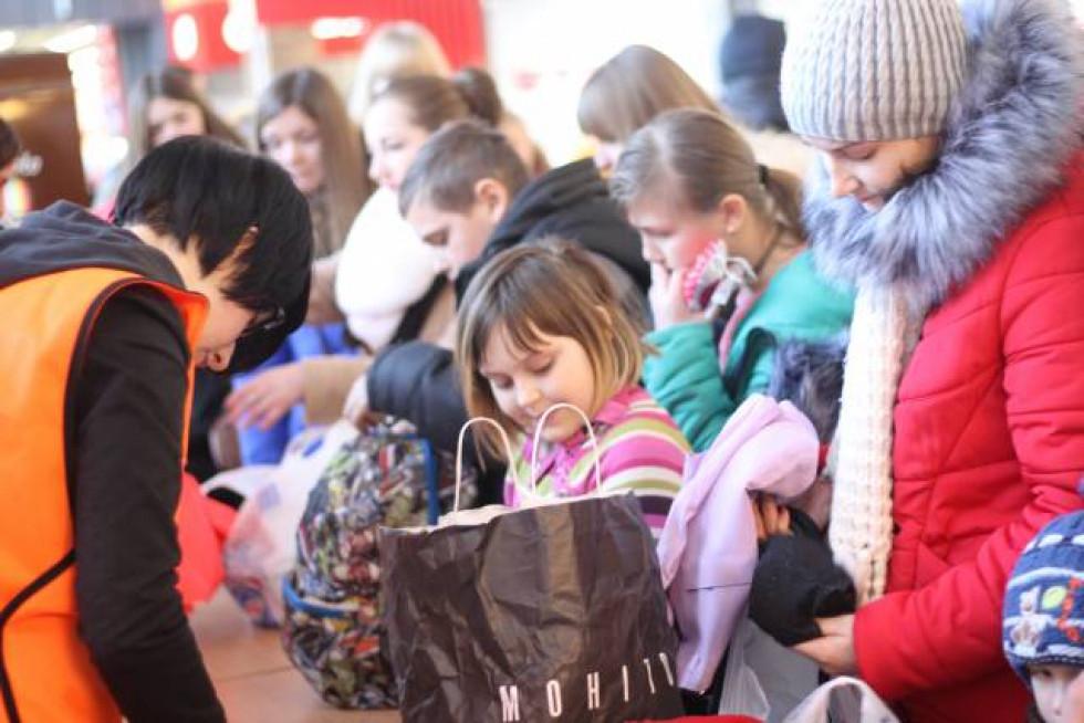 Всі речі передали у Луцький міський центр соціальних служб для сім'ї, дітей та молоді