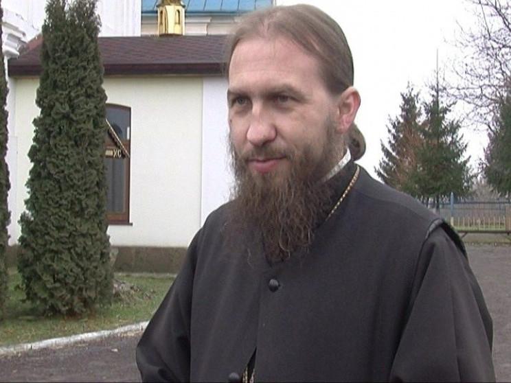 Настоятель монастиря Костянтин Марченко