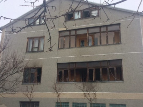 Будинок, де сталась пожежа
