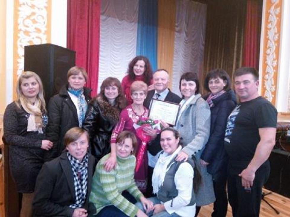 Галині Терлецькій вручили сертифікат на 15 тисяч гривень