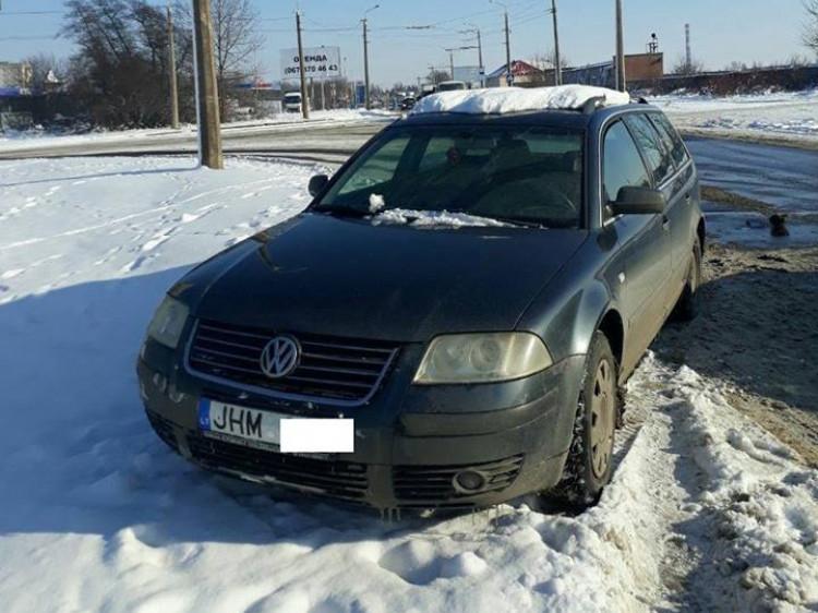 VW з литовскими номерами