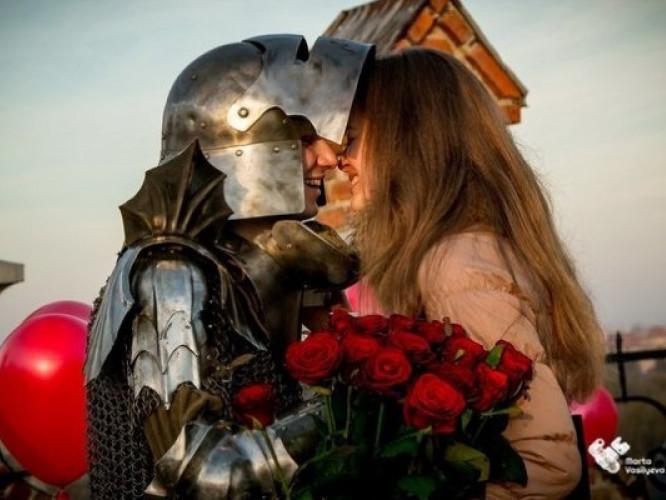 Романтичне освідчення у Луцьку