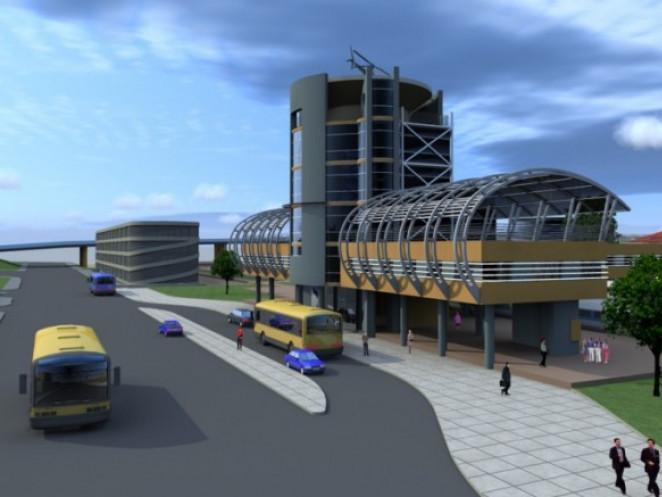Проектна схема луцького вокзалу