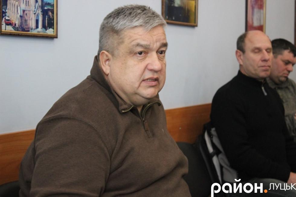Обговорення почали виступом начальника управління архітектури та містобудування Леоніда Герасимюка