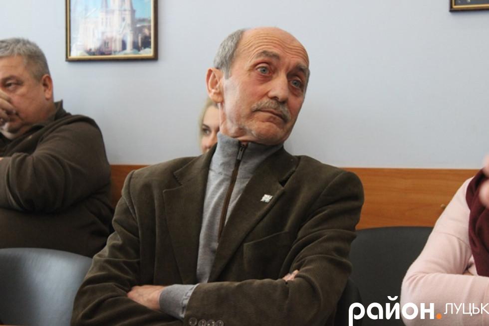 Начальник відділу охорони культурної спадщини Луцької міської ради Петро Троневич