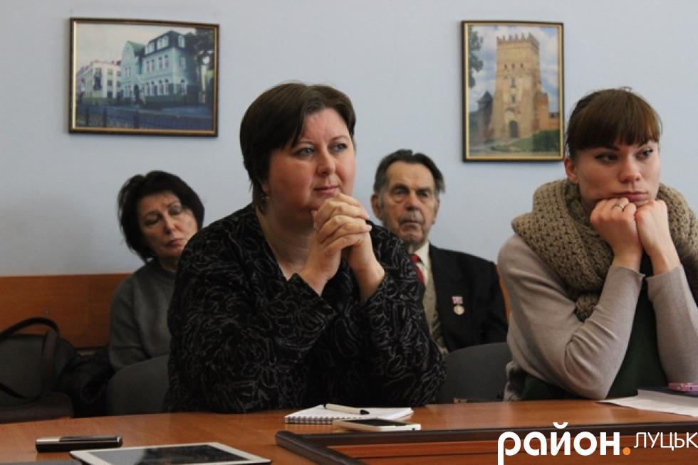 Представниця інституту національної пам'яті Леся Бондарук