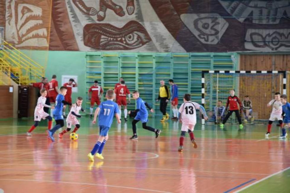 Змагалося у футзальному турнірі чотири команди