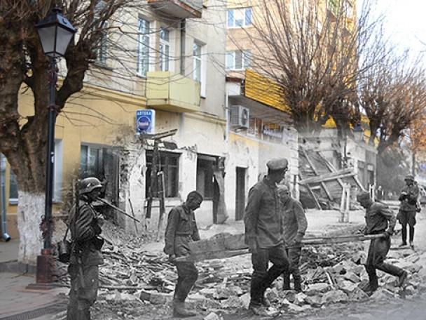 Фото періоду війни у Луцьку