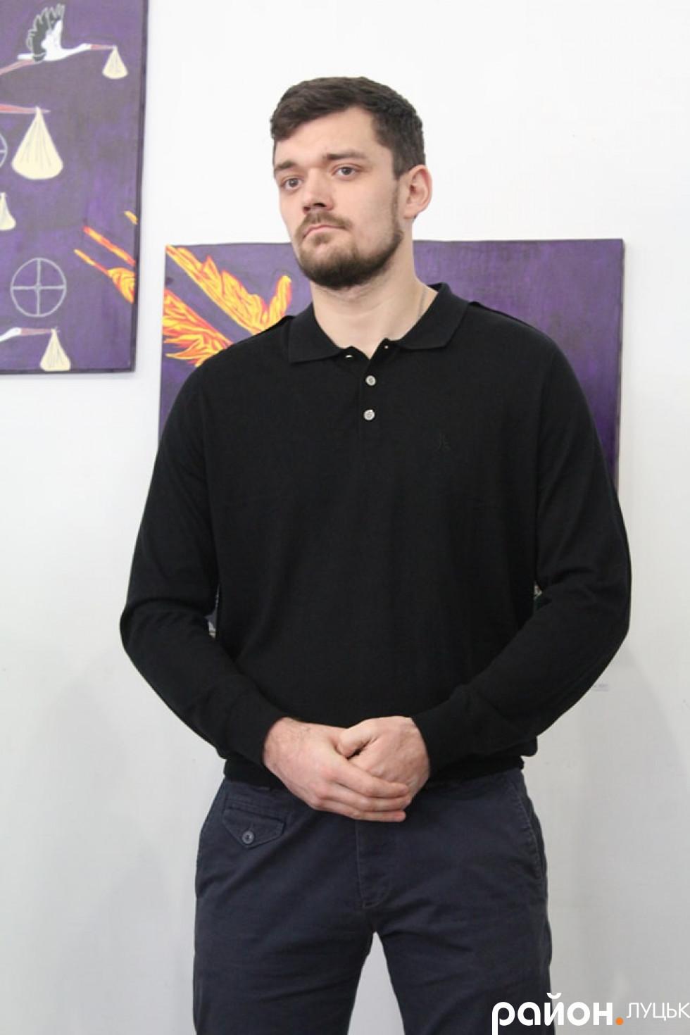 Колишній боєць АТО Андрій Соломін