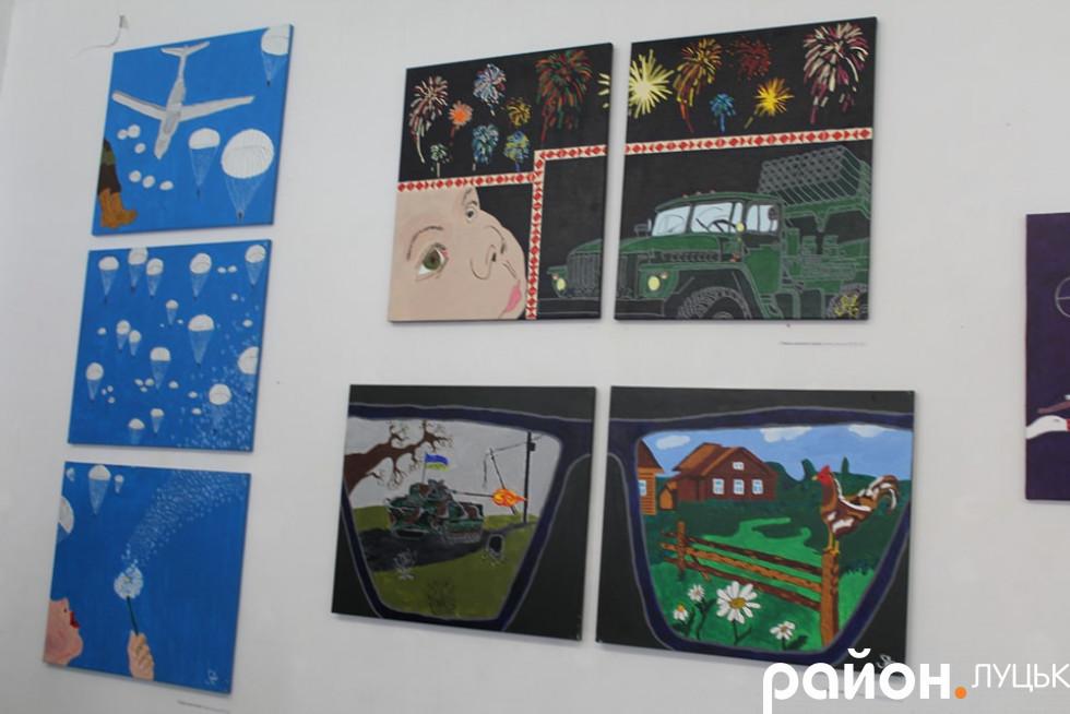 Виставка картин Андрія Соломіна