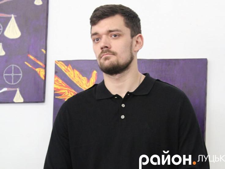 Андрій Соломін презентував власну колекцію картин