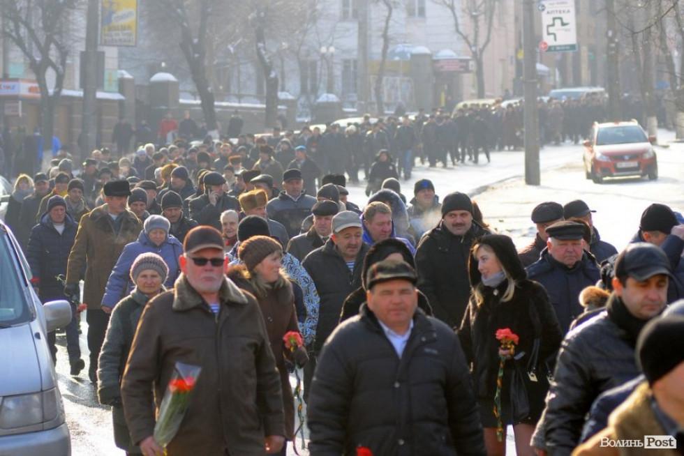Урочиста хода в Луцьку