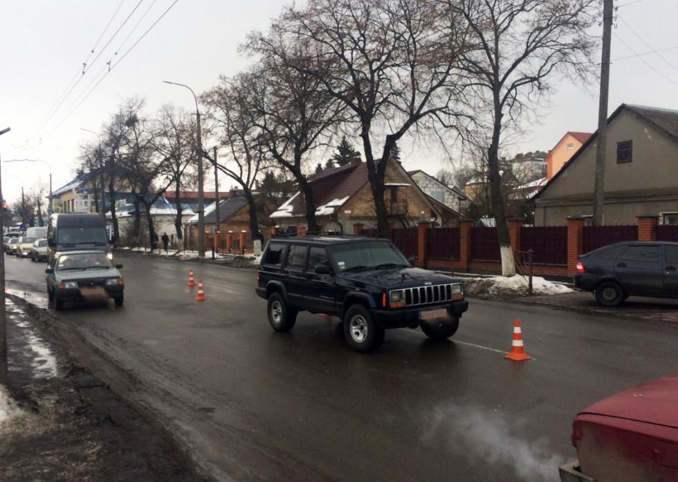 Лучани переходили дорогу у невстановленому місці