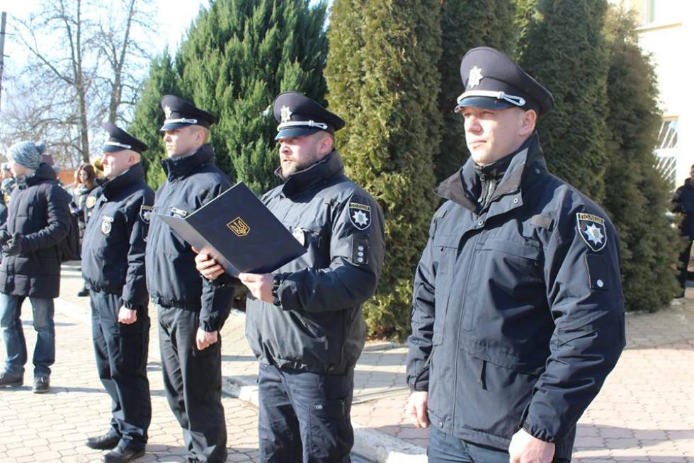 Олександр Вовченко зачитав текст присяги