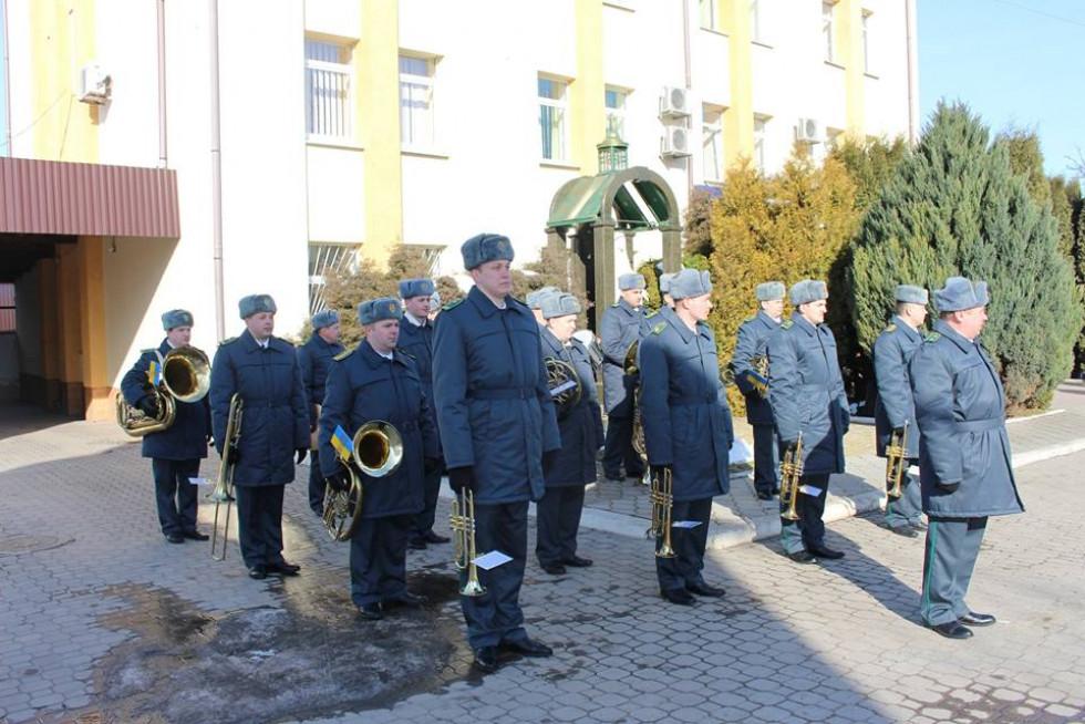 Новоспечених патрульних вітав оркестр