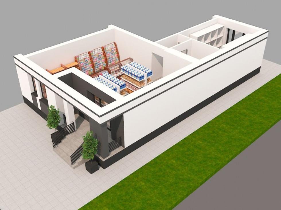 Проект комерційного приміщення у ЖК «Юпітер»