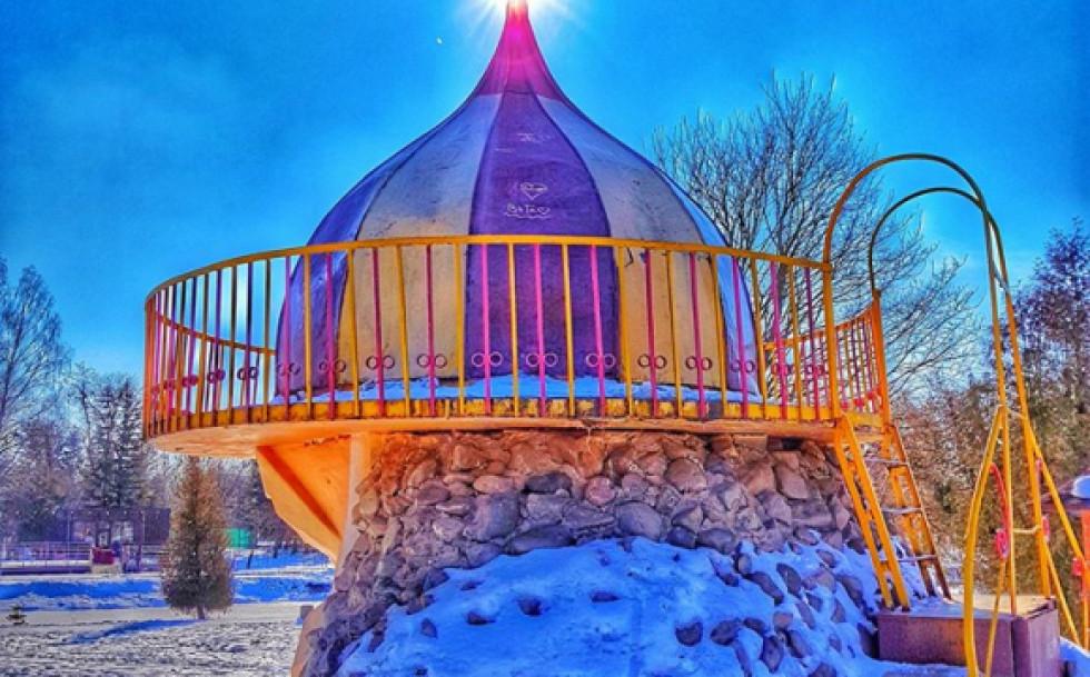 Зимова краса у парку Луцька
