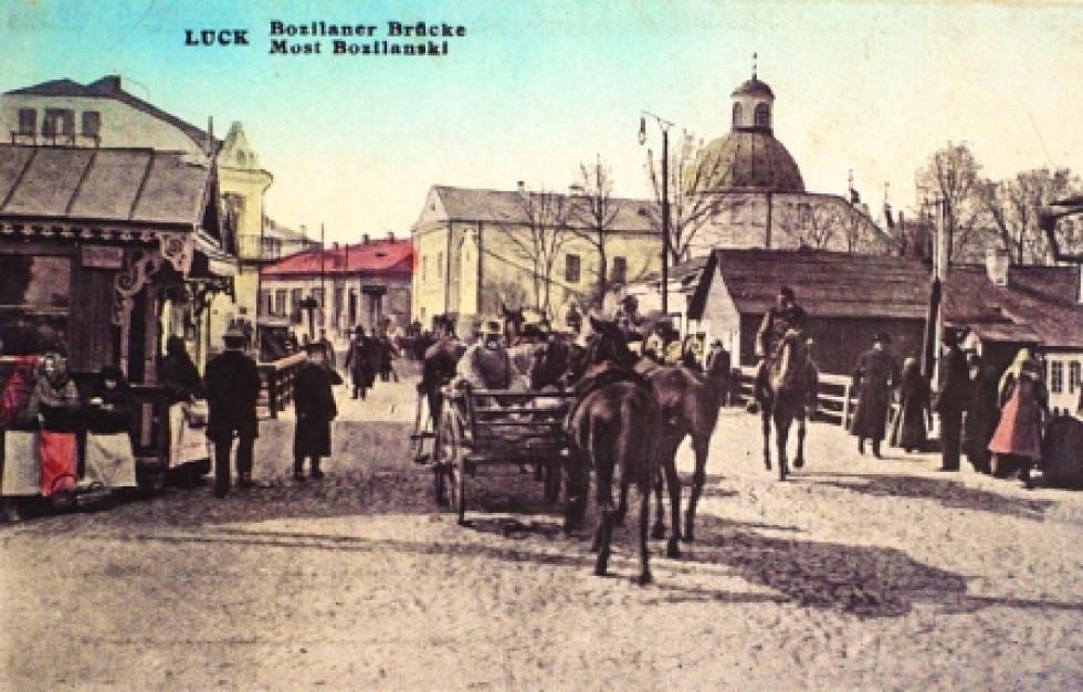 Коні посеред вулиць Луцька