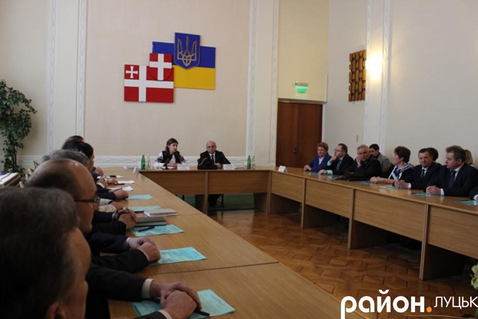 Марина Порошенко приїхала до Луцька з робочим візитом