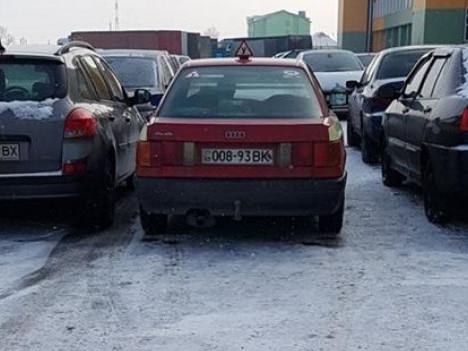 Навчальне авто порушило ПДР