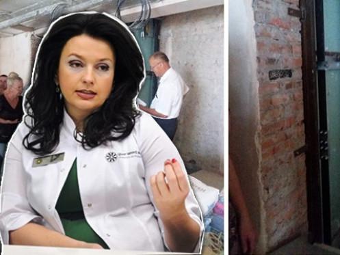 Власниця медичного центру Тетяна Єремеєва встановила в багатоповерхівців додатковий ліфт.