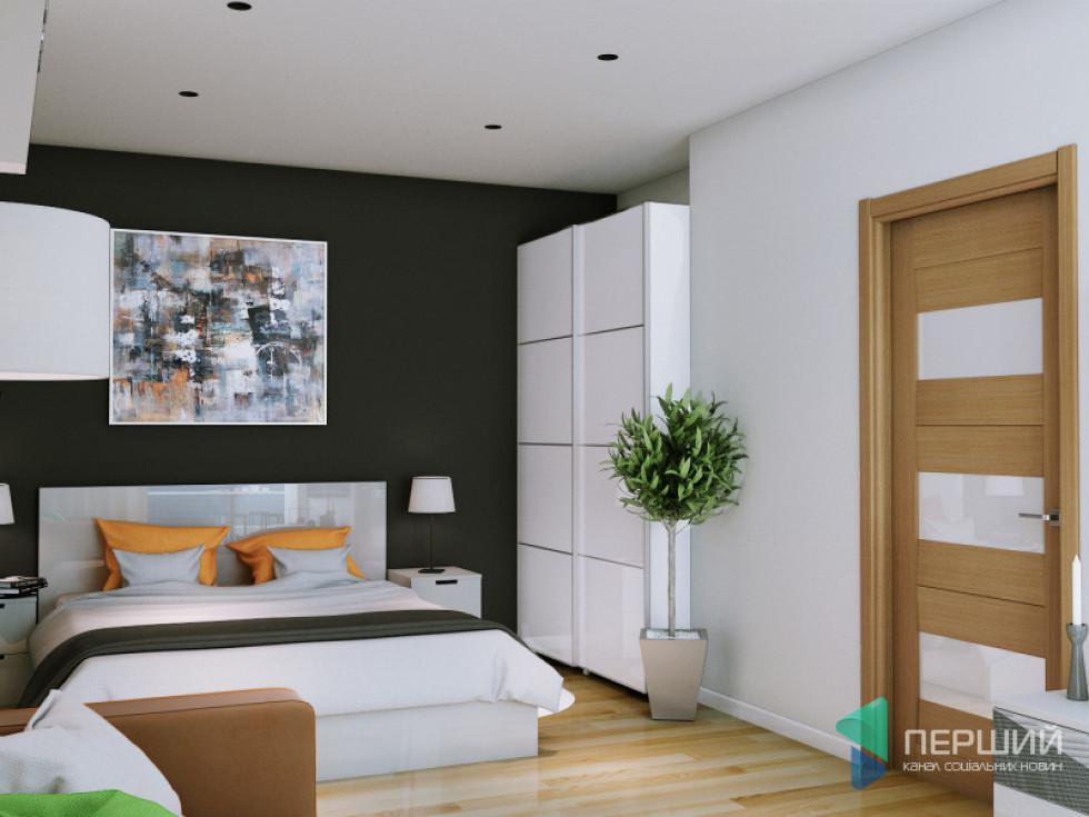 Спальня квартири у «Супернові»