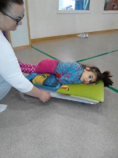 Настя проходить реабілітацію у оздоровчому центрі «Віпурі кет»