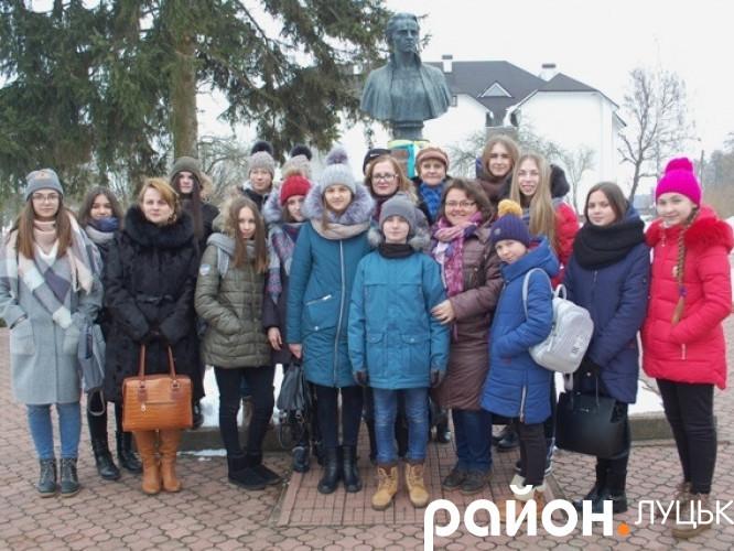 Луцькі школярі відвідали музей Лесі Українки