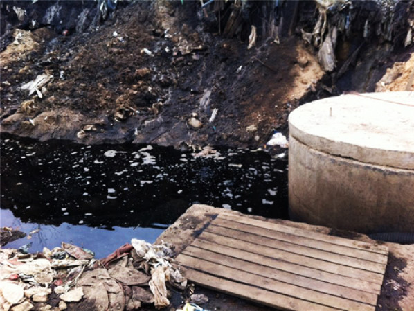 Фільтрат забруднював землі