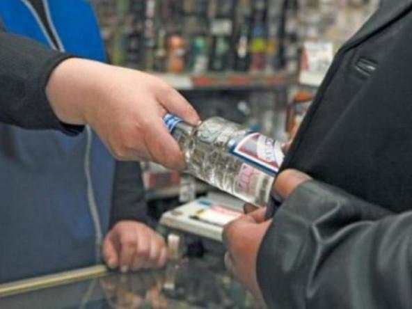 На ринку 40-го кварталу продавали алкоголь вночі