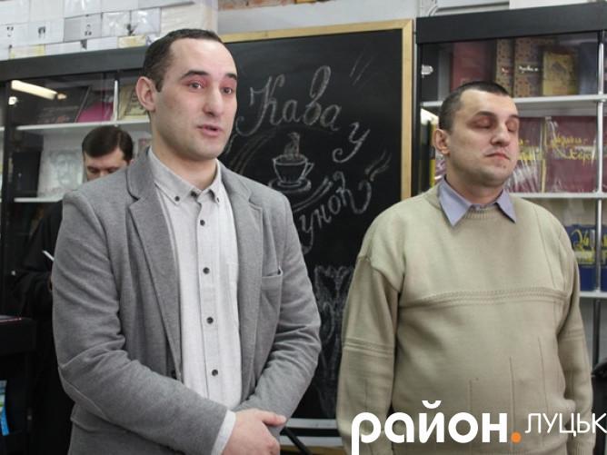 Презентували аудіопутівник Луцьком