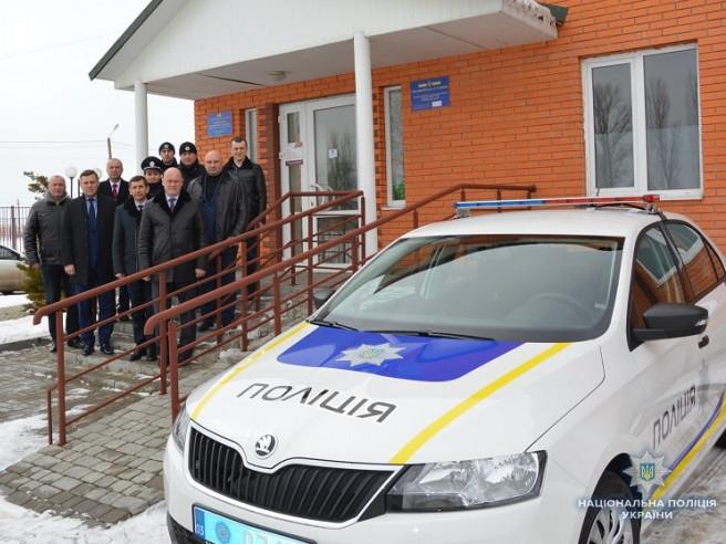 Поліцейська станція у Боратині