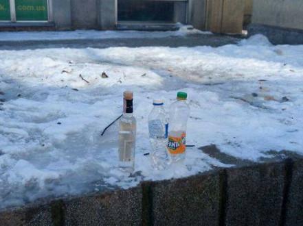 Вилучені пляшки